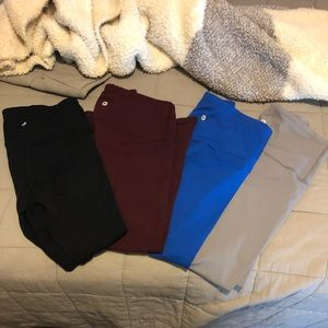 90 Degrees by Reflex Crop Athletic Legging Lot